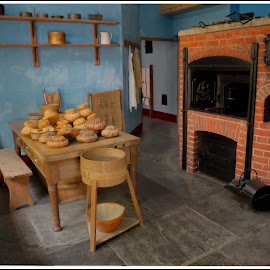 The Bakery by Jebark Fineartphotography - Food & Drink Cooking & Baking ( england, uk, mansion, bakery, victorian, house, cornwall )