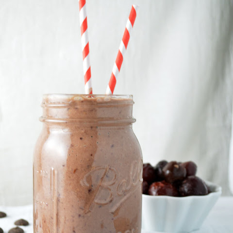 Chocolate Covered Cherry Smoothies for Two