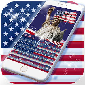 Download American flag Keyboard Theme For PC Windows and Mac