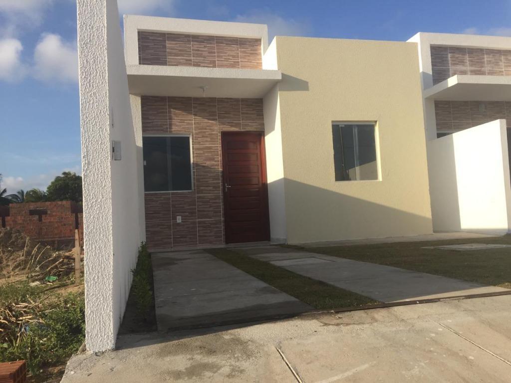 Casa à venda, 35 m² por R$ 90.000,00 - Praia do Amor - Conde/PB