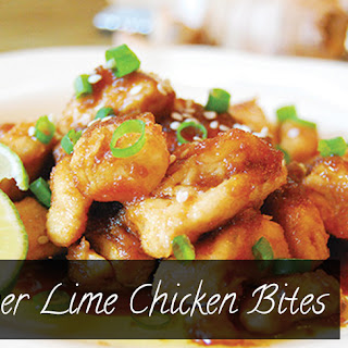 Ginger Lime Chicken Bites - Paleo