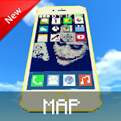Map Iphone 6 for Minecraft PE