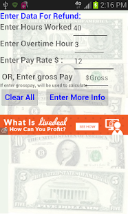 Lastest Tax Refund Calculator - No Ads APK for Android