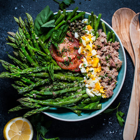 Spring Asparagus and Green Bean Salad