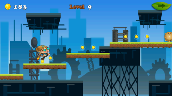 Hopping Man - screenshot