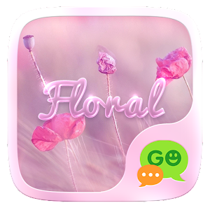 (FREE) GO SMS FLORAL THEME For PC