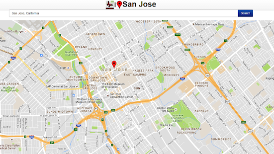 San Jose Map - screenshot