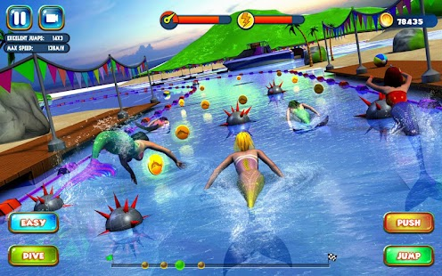 Game Mermaid Race 2016 apk for kindle fire