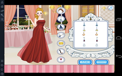 Dress up Games Girls Makeover- screenshot thumbnail