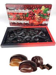 """Конфеты шоколадные """"Ассорти"""", новогодний набор, красный,130г"""