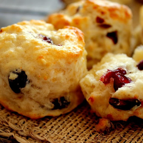 Five Cheese and Cranberry Scones