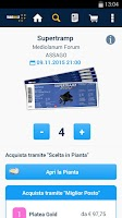 Screenshot of TicketOne.it