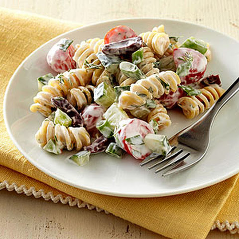 Greek Garden Pasta Salad