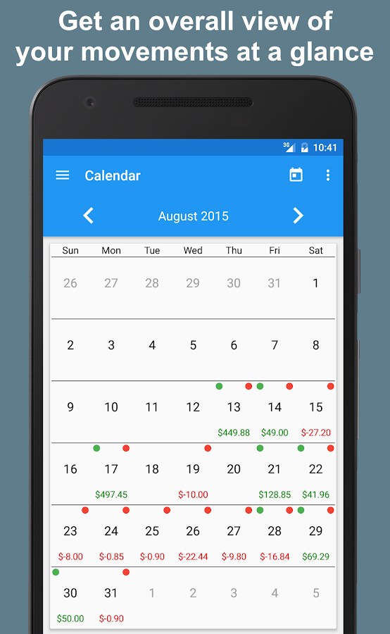 Fast Budget - Expense Manager Screenshot 7