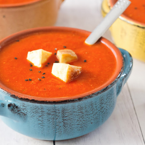 Smoked Red Pepper Soup