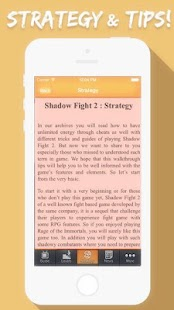 Cheats For Shadow Fight 2 - screenshot