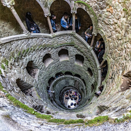 Oh, well by Ido Ben-Itzhak - Buildings & Architecture Public & Historical ( stairs, portugal, spiral, people )