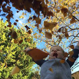 Autumn Fun by Kim Anderson - Babies & Children Children Candids ( autumn )