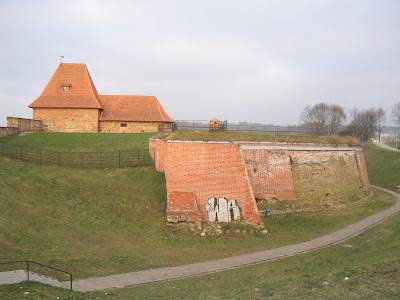 Remains of fortifications in Vilnius