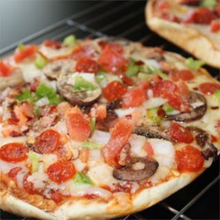 Vegetarian Pita Pizza Recipes