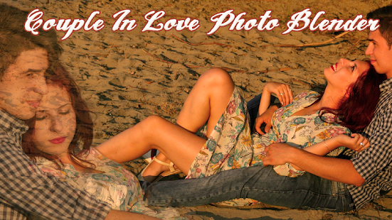 Couple In Love Photo Blender - screenshot