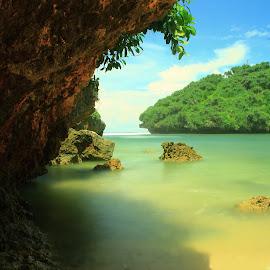 PANTAI DRINI by Tri Wahyono - Landscapes Beaches