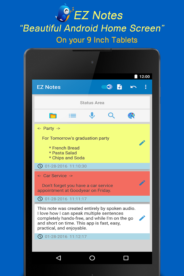EZ Notes - The Swift Organizer Screenshot 8