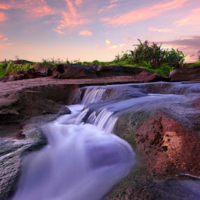 Waterfall by Pt Seputra Adi Winata - Landscapes Waterscapes