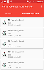 Voice Recorder - Lite Version Screenshot