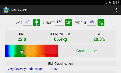 App BMI Calculator apk for kindle fire | Download Android APK GAMES ...