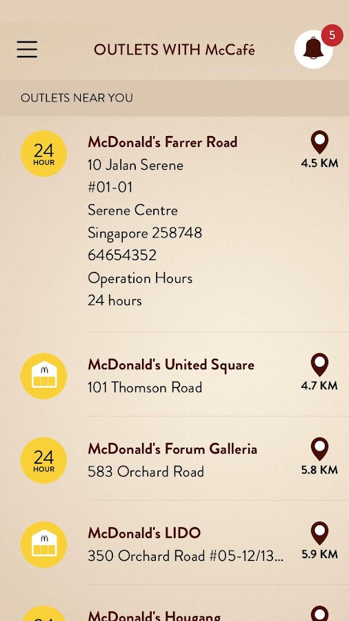 McCafe Devotee Screenshot 3