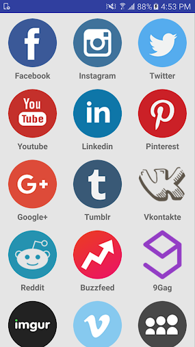 Social Media Apps In One APK