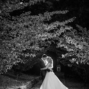 by Martyn Norsworthy - Wedding Bride & Groom