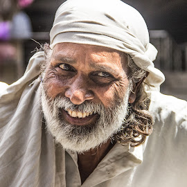 by Chittaranjan Bhat - People Portraits of Men