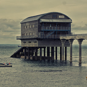 The Lifeboat Station by James Booth - Buildings & Architecture Bridges & Suspended Structures ( lifeboat, sea, landscape, rnli, structures )