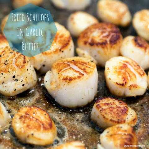 Scallops in Garlic Butter