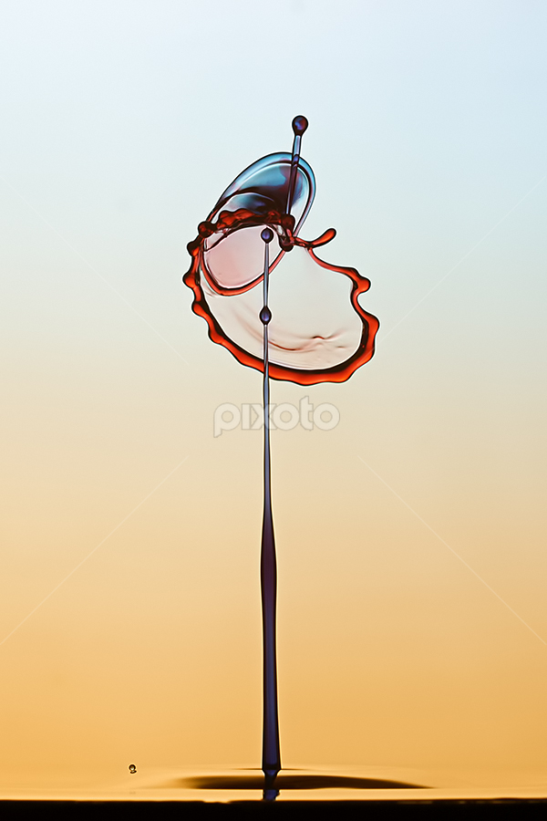 Old Popeye by Ganjar Rahayu - Abstract Water Drops & Splashes ( waterdrop )