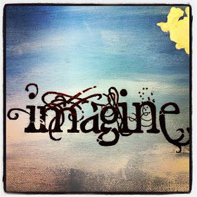 Imagine by Brennan Adamus - Typography Words (  )