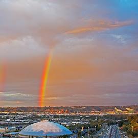 Rainbow by Will McNamee - City,  Street & Park  Skylines ( patty_j_ball@hotmail.com; donaldbarber11@msn.com; donaldbarber11@msn.com; d3a1@aol.com;  postholes2002@yahoo.com; )