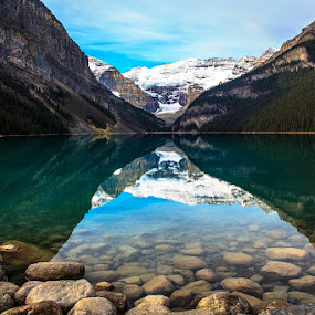 X by CK Lam - Landscapes Waterscapes ( lake louise, canada, alberta, banff national park )