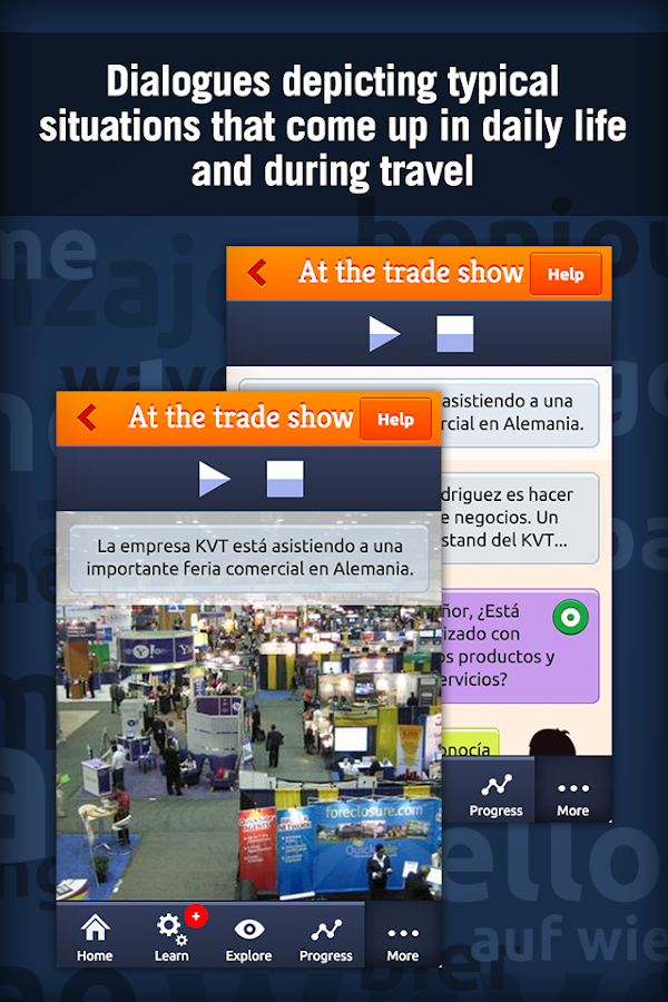 MosaLingua Business Spanish Screenshot 2