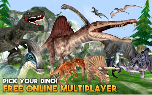 Dino World Online - Hunters 3D For PC