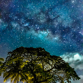 Upon The Heaven by Gilbert Sanchez - Landscapes Starscapes ( milkyway, stars, starscapes, milky way )