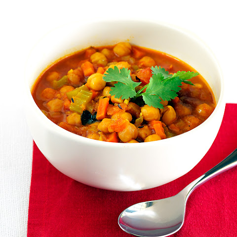 North African Squash and chickpea stew