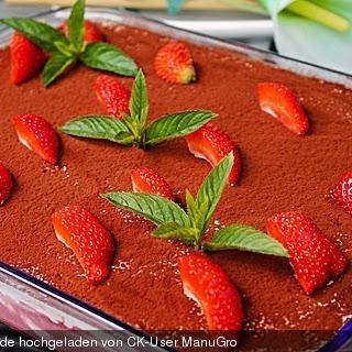 Mascarpone Ladyfingers Strawberries Recipes
