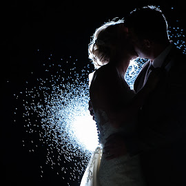 Nightlight by Lodewyk W Goosen (LWG Photo) - Wedding Bride & Groom ( love, wedding photography, married, wedding day, weddings, wedding, bride and groom, wedding photographer, bride, groom, romance, bride groom )