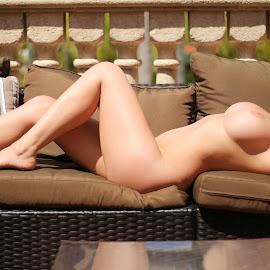 Suncatcher by Allen Chung - Nudes & Boudoir Artistic Nude ( allenchung, #nude, asiangirl, artistic nude, #undecidedstudios )