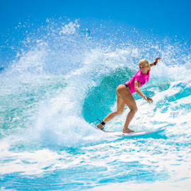 Surfs Up by Nick Stevens - Sports & Fitness Surfing ( surfing, 2016, snapper, roxy pro )