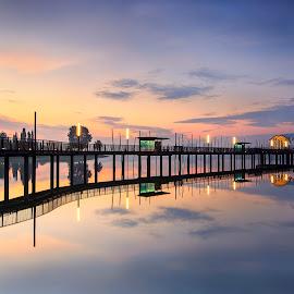 Lower Seletar Reservoir by Geracleo Bunggo - Landscapes Sunsets & Sunrises