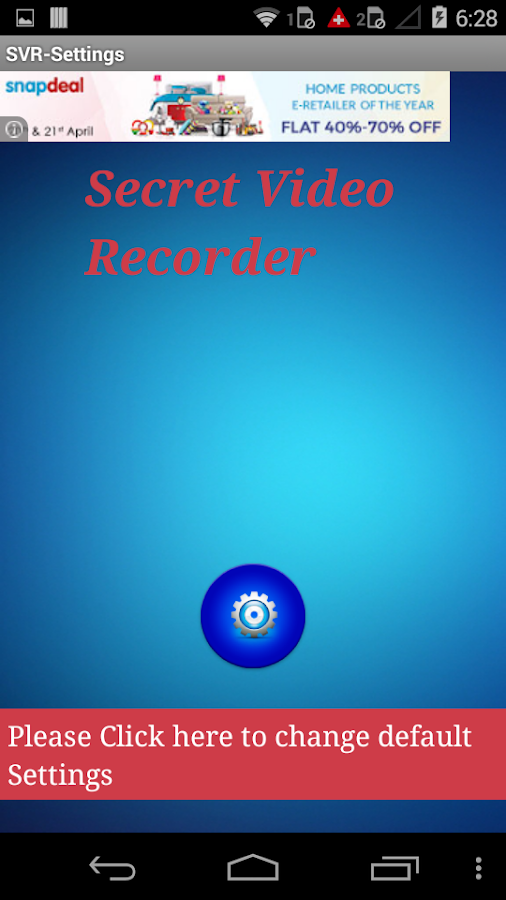 Secret Video Recorder Pro Screenshot 2